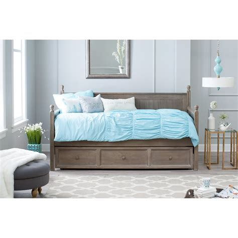 grey upholstered bed belham living casey daybed washed gray daybeds at