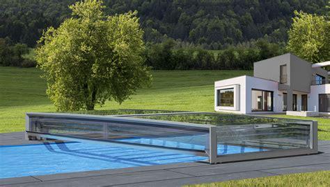 schoener schutz mit der neuen pool abdeckung pro
