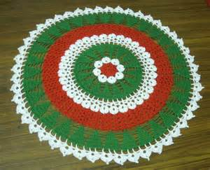 Christmas Tree Crochet Doily Pattern