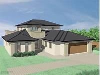 gable roof design Tullipan Home Designs The Sedona MKIV Downslope Hip Roof ...