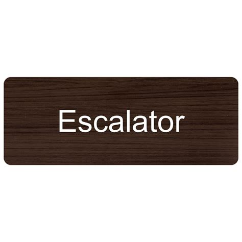 Escalator Engraved Sign Egre330whtonkna Elevator  Escalator. Diamond Shaped Signs. Clinical Depression Signs. Ying Yang Signs. Space Signs Of Stroke. Eyelid Dermatitis Signs. Bug Signs. Public Safety Signs. Counter Signs Of Stroke