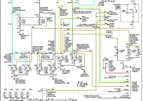 1997 Gmc Suburban Light Wiring Diagram by I A 1997 Gmc K2500 Suburban With The Factory Tow