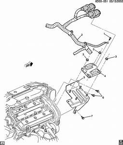 Cadillac Cts Harness  Engine Wiring  Harness  Eng Wrg