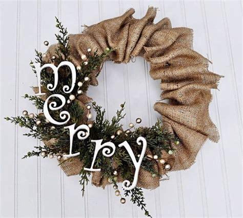 burlap ideas for christmas diy rustic christmas decorations easy diy burlap christmas wreath ideas holiday decorating