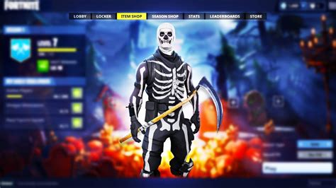 fortnite halloween skins skull trooper coming
