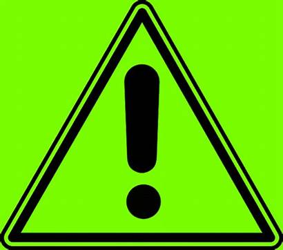 Caution Animated Blinking Exclamation Mark Warning Signs