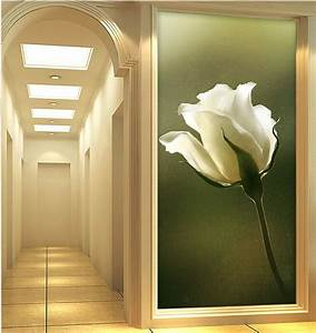 Elegant 3D Wallpaper Nature Wall Mural Rose photo ...