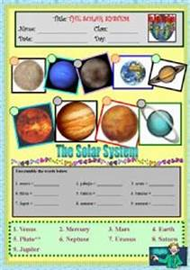 Scramble Words Name of Planets - Pics about space