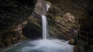 Download, Wallpaper, 1920x1080, Waterfall, Rocks, Stream