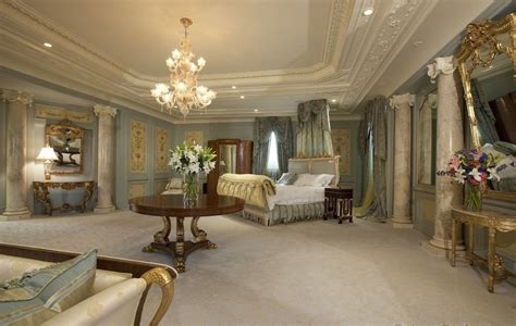 Luxury Master Bedrooms In Mansions  The Master Suite Is