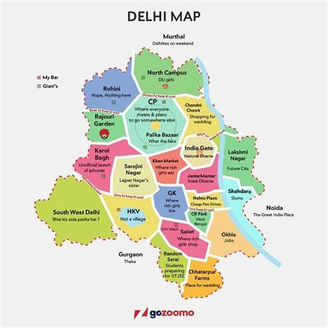 accurate map  delhi   agree