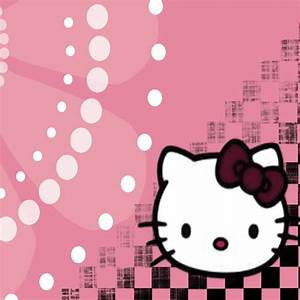 Hello Kitty Pink iPad Wallpaper | iPhone Fan Site
