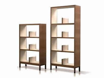 Giorgetti Nea Shelving Open Wooden Units Bookcase