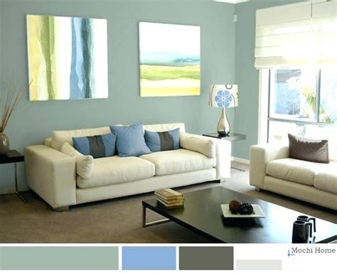 relaxing color schemes for living room