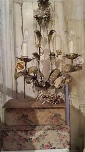 Shabby Chic Lampen : pin von simply flair shabby chic living auf chandeliers lamps kristalleuchter lampen ~ Orissabook.com Haus und Dekorationen
