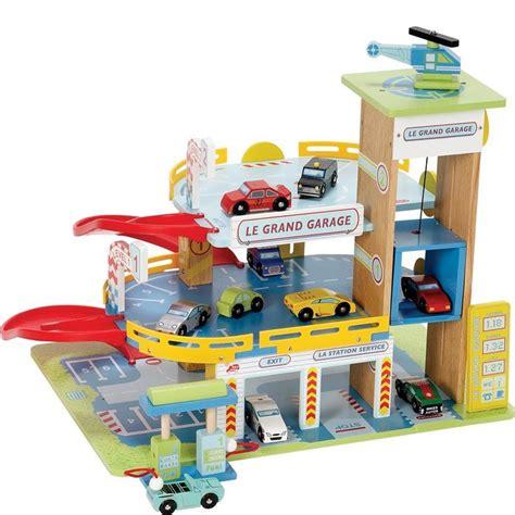 wooden toy garage ideas  pinterest wood kids