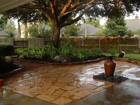 pea gravel patio ideas home design ideas