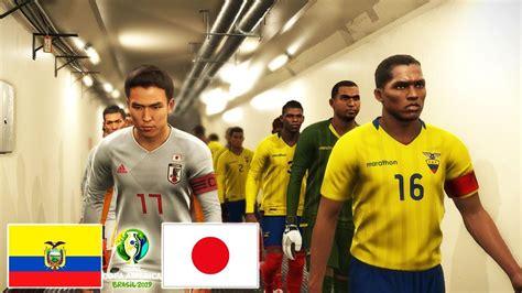 Vs, uru vs jan, highlight, goal, football, highlights uruguay vs japan copa america 2019, copa america 2019. Ecuador vs Japan - Copa America 24 June 2019 Gameplay ...