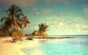 Tropical Ocean Vacation Wallpaper for Widescreen Desktop ...
