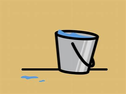 Bucket Movement Animation Dribbble Cleaning Icon Effects