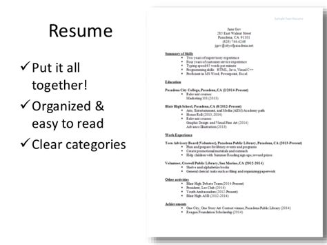 what to put on my resume 12 write my resume the most