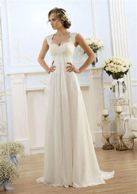 empire wedding dresses wedding dress sweetheart neckline empire waist wedding 3901