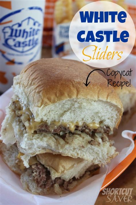 copycat white castle sliders everyday shortcuts