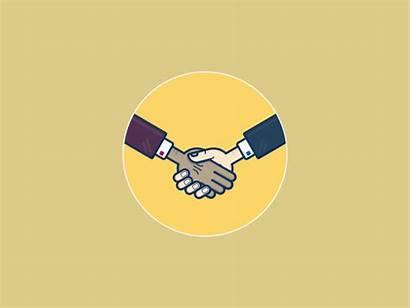 Hands Shake Handshake Motion Graphics Effects Animation