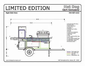 Hot Dog Cart Vending Concession Stand Trailer New Limited