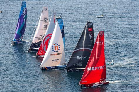 blog volvo ocean race arrivals  newport whatsupnewp