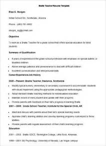 resume format for fresher maths teachers resume 51 teacher resume templates free sle exle format download free premium templates
