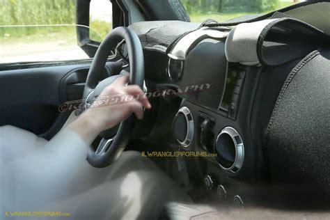 new jeep wrangler interior 2018 jeep wrangler jl 2 door spied zf 8 speed auto and