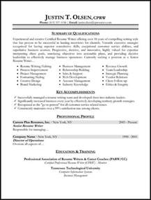 resume summary of qualifications best resume styles exles for your job recentresumes com
