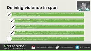 Introduction To Violence In Sport As91502
