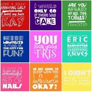 Book Character ... Divergent Character Quotes