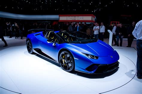 Lamborghini At The Geneva Motor Show 2018