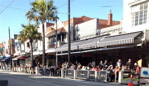 acland street st kilda   sunday morning melbourne places