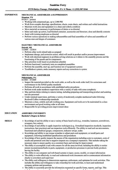 Mechanical Assembler Resume Samples  Velvet Jobs. Food Server Job Description For Resume. Resume For Architecture Job. What Should Be On My Resume. Linkedin Resume Generator. Attached With This Email Is My Resume. Sample Nurse Practitioner Resume. Resume Complete Format. Action Resume Words