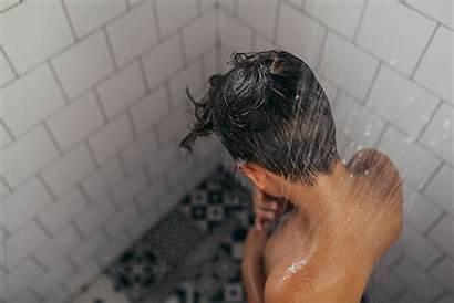 Shower Boys Boy Bath Taking Under Ru