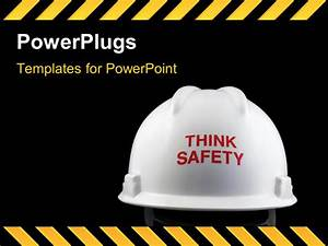 powerpoint template think safety message on the back of With health and safety powerpoint templates