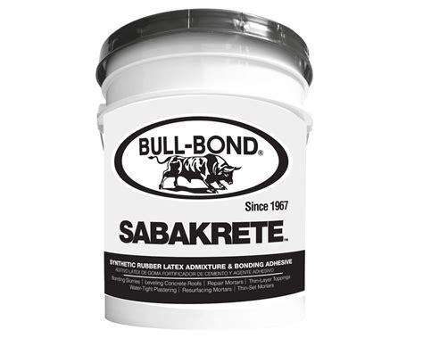 SABAKRETE?   BULL BOND®
