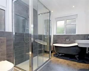 Wandfarbe Für Bad : modernes badezimmer grau inspiration ~ Michelbontemps.com Haus und Dekorationen