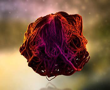 Mumps Virus Antibody Under Microscope