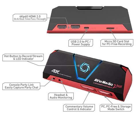 Buy Avermedia Live Gamer Portable 2 Plus Capture Device
