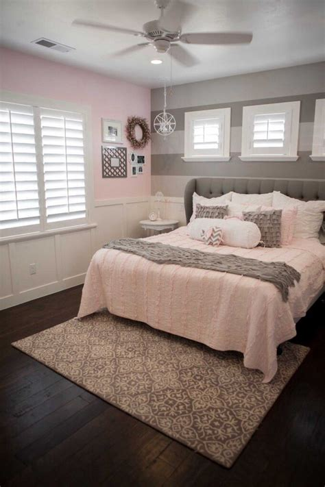 pink and grey room love the wainscoting two tone grey