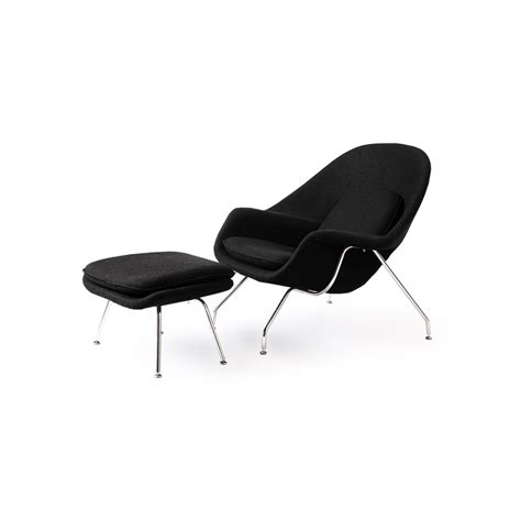 womb chair and ottoman premium wool artis d 233 cor