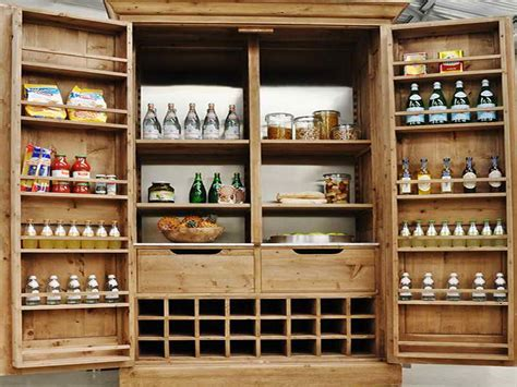 Design of Install Freestanding Pantry Cabinet ? Cabinets