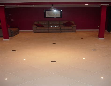 tile flooring for basement custom basement floor installation travertine installers suwanee ga and alpharetta ga