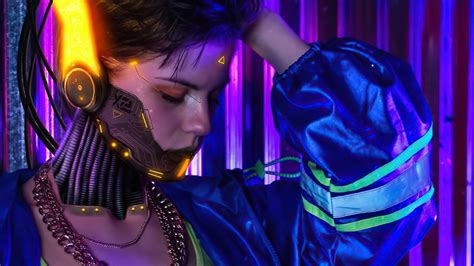 Download games background photos and posters, keanu reeves and other. Cyborg Face Futuristic Girl 4K Cyberpunk 2077 Wallpapers | HD Wallpapers | ID #48602