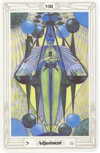 the soul journey through the thoth tarot cards adjustment